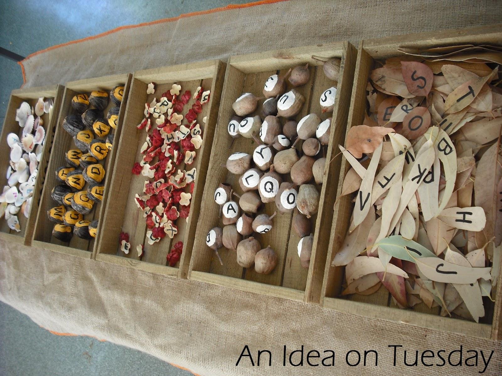 An Idea On Tuesday Alphabet Sorting