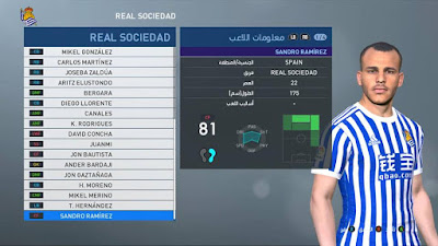 PES 2017 PES Professionals Patch 2017 Option File 01/09/2018