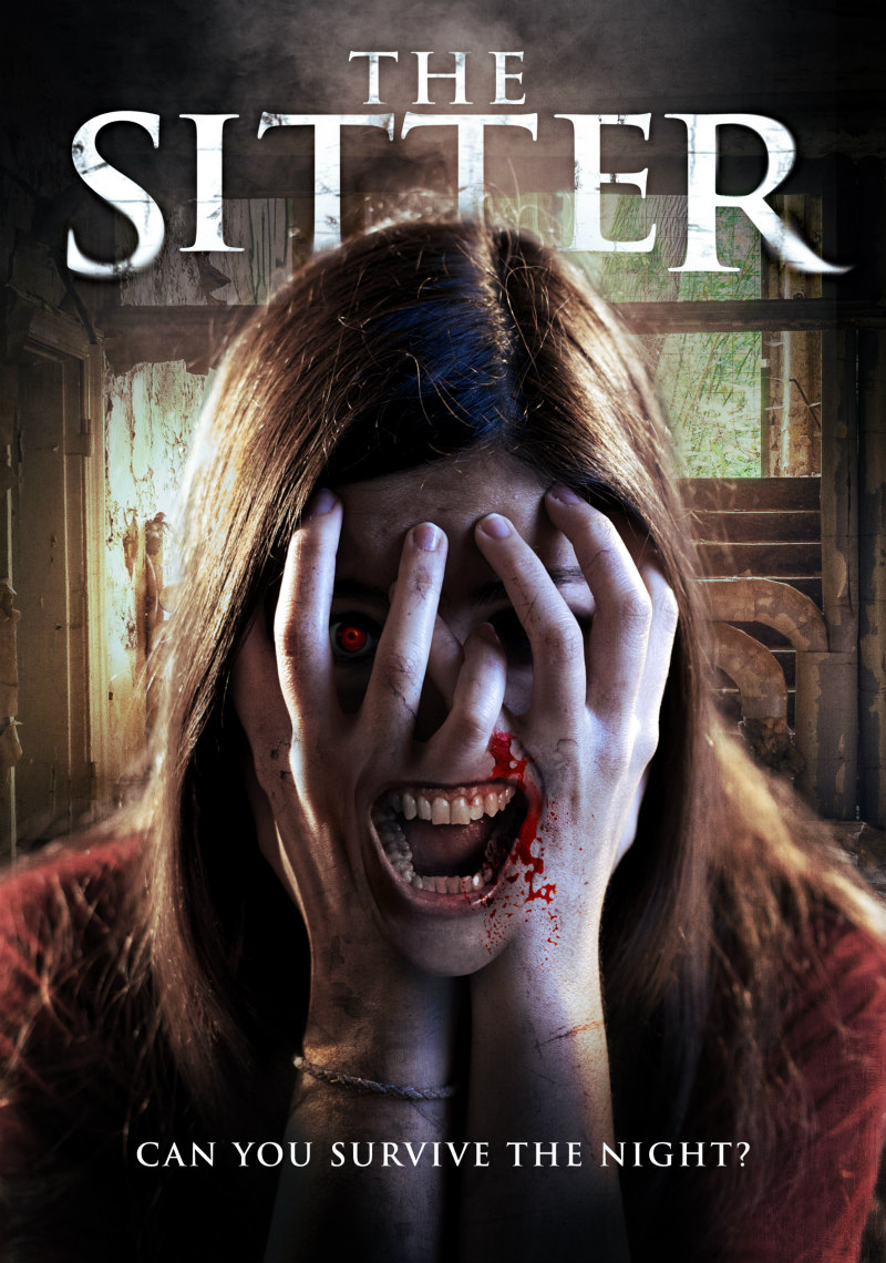 the sitter horror film poster