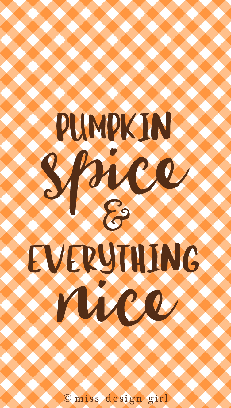 And Everything Else Too All Kinds Of Neighbors: Pumpkin Spice + Everything Nice Freebie