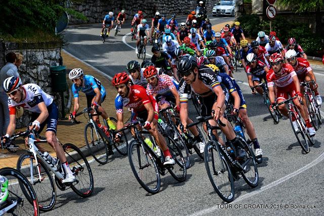 Tour of Croatia 2016 / 4.Etapa biciklistička utrka @ Opatija, Veprinac, Učka 22.04.2016