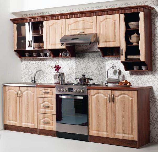 Küchenzeile Landhausstil