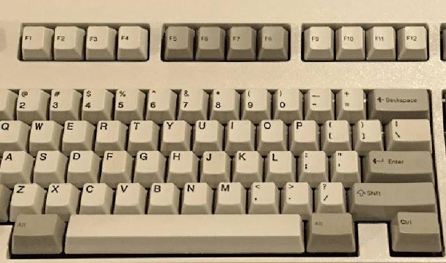 Tasti funzione tastiera IBM Model M