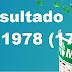 Resultado Mega Sena - Concurso 1978 (17/10/2017)