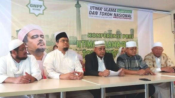 GNPF Ulama Enggan Dukung JK Maju Cawapres 2019