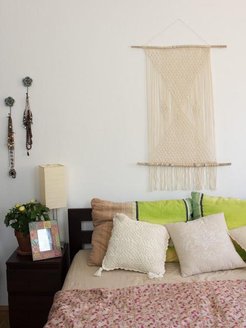DIY | Geknüpfter Wandteppich | Wandschmuck aus Makramee