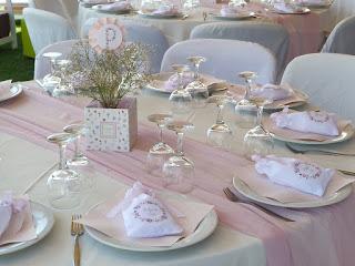 ανοιξιάτικη διακόσμηση βάπτισης κοριτσάκι ροζ λευκό κίτρινο λουλούδια