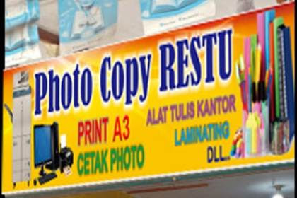 Lowongan Kerja Photocopy Restu Rumbai Pekanbaru November 2018