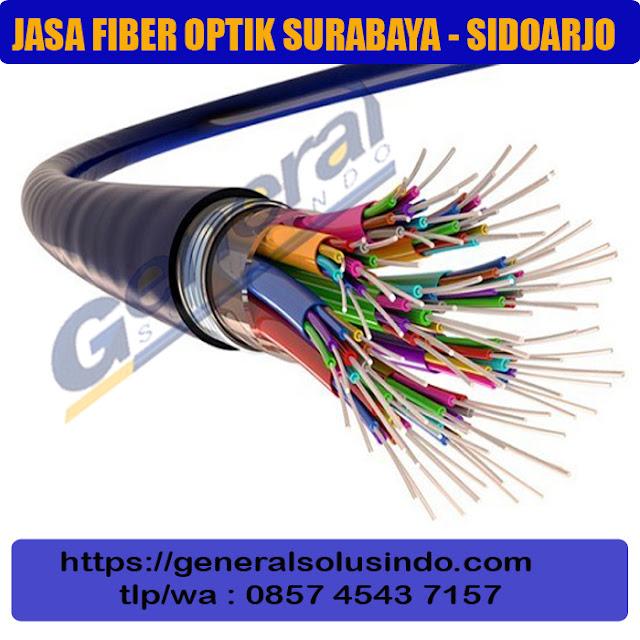 jasa instalasi kabel fiber optik surabaya dan sidoarjo