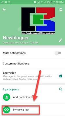 cara membuat link grup whatsapp wa