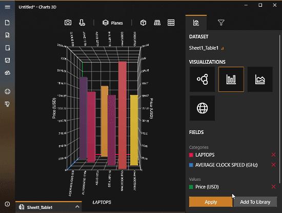 yang memungkinkan kamu membuat grafik bar Cara membuat grafik 3D di microsoft excel