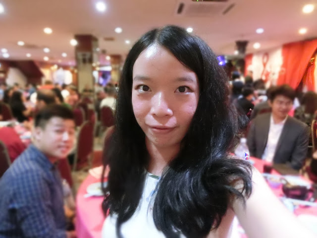 at a Malaysian Chinese wedding dinner