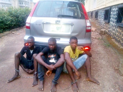 Please Send Me to Prison - Suspect Confesses Involvement in Uncle's Kidnap in Enugu (Photo)
