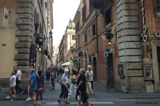 Onde comprar roupa em Roma