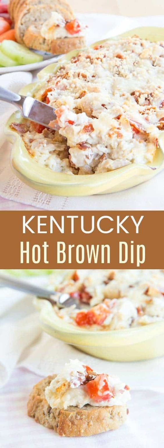 Kentucky Hot Brown Dip