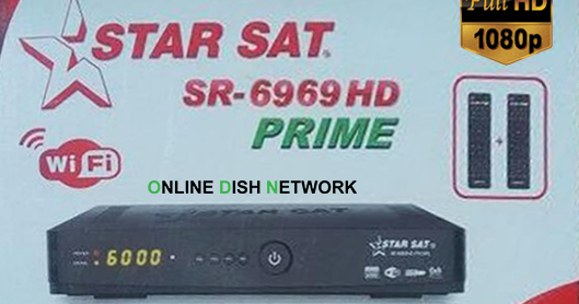 Star Sat SR 6969 HD Prime PowerVu Software 2019 - Online