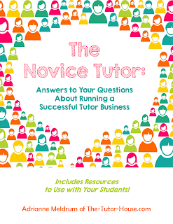 The Novice Tutor e-book cover