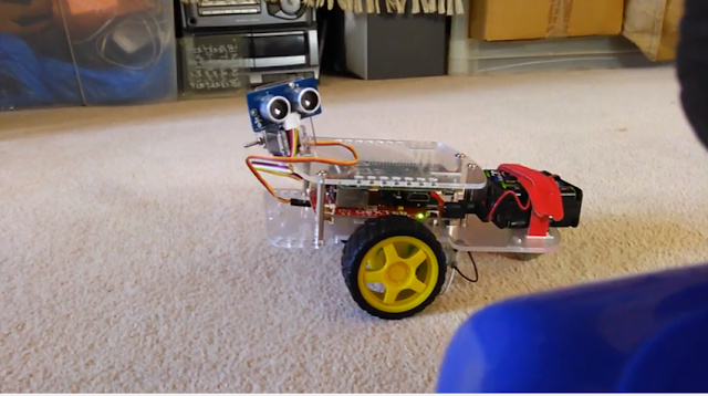 Turning The Gopigo Into An Obstruction Detection Robot Using Ultrasonic Waves - Role 6