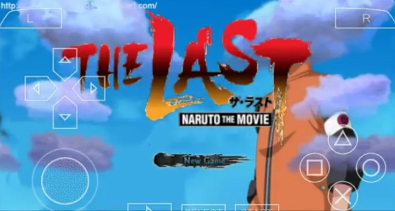 GAME NARUTO THE LAST PPSSPP
