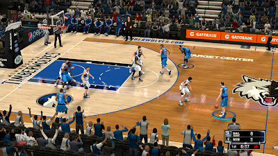 NBA 2K14 Target Center Court Mod