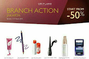 Promo ORIFLAME Branch Action 1 - 31 Maret 2018
