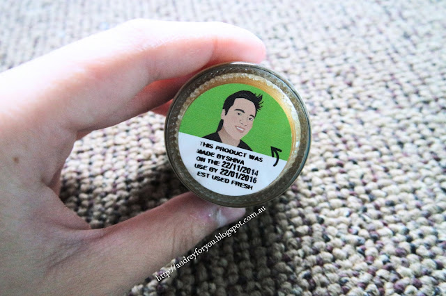 Review Lush Mint Julips Lip Scrub