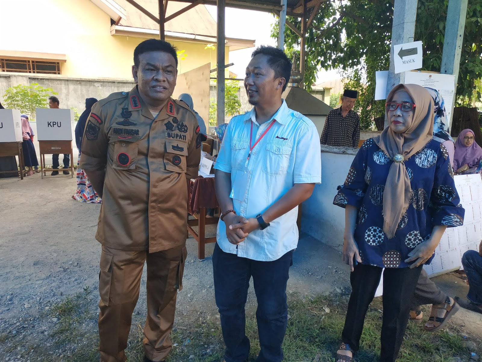 Partisipasi Wajib Pilih Kelurahan Biru Meningkat di Pemilu 2019