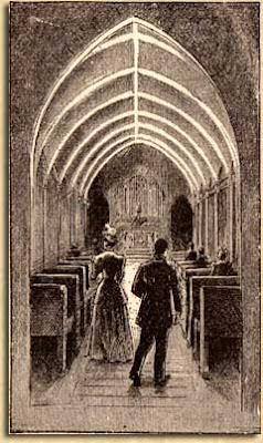 Kapelle mit dem kalten Licht des M. Moore