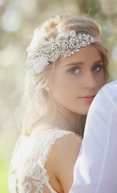 Dodatkowe Ślubna Stylówa: AKCESORIA DO WŁOSÓW W STYLU BOHO 1 - zrób to sama PD64