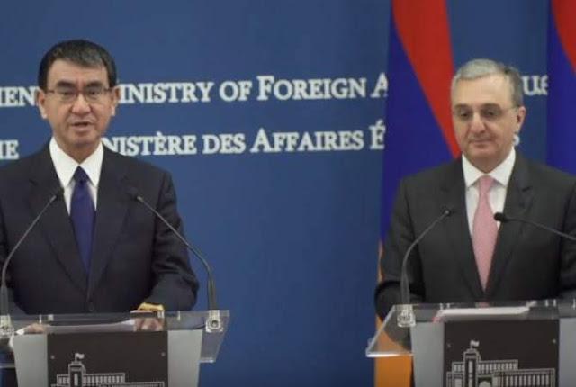 Japón quiere desarrollar relaciones con Armenia