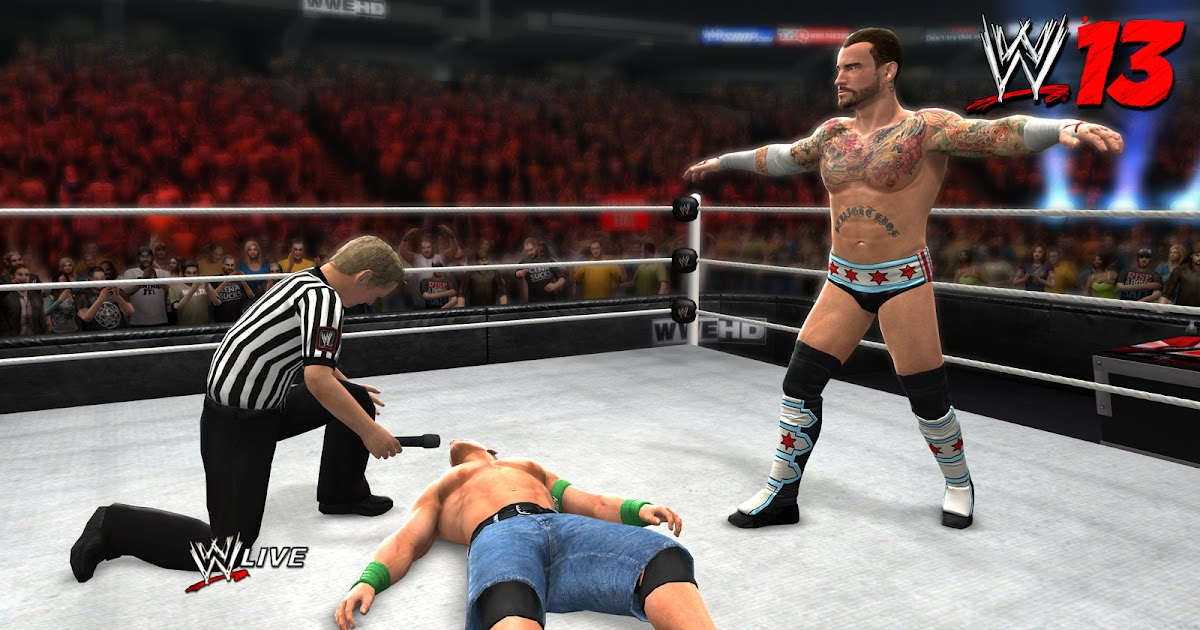 Free Download WWE 13 Games for PC - Full Version WWE 2k13