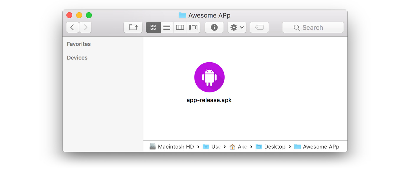 Android studio export signed apk