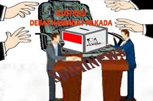 Debat Kandidat Pilkada Takalar,Akan Disiarkan Langsung