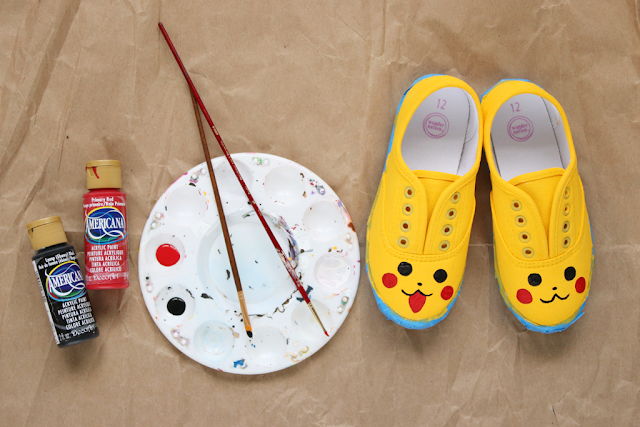 make your own pokemon shoes