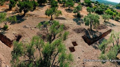 Με αμείωτο ρυθμό συνεχίζεται η αρχαιολογική ανασκαφή στο Λισβόρι της Μυτιλήνης