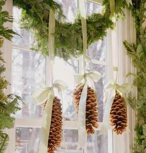 Φανταστικες ιδεες Χριστουγεννιατικης διακοσμησης για τα παραθυρα σας!