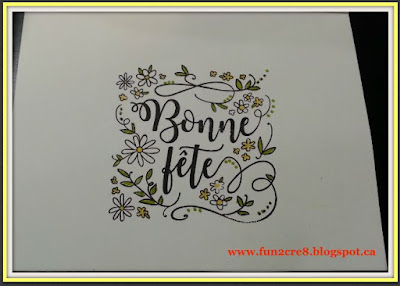 carte fête, Birthday Card, French stamp, CTMH Close To My Heart, www.fun2cre8@blogspot.ca