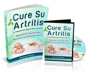 """El libro """"Cure Su Artritis"""", es una guía paso a paso, sencilla y fácil de seguir, para revertir la artritis de forma natural. Lo puedes obtener en español aquí a un precio super accesible, compruebalo tu mismo/a."""