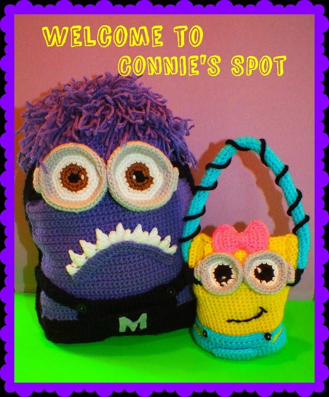 Minion Monster Inspired Backpack & Purse Pattern© By Connie Hughes Designs©