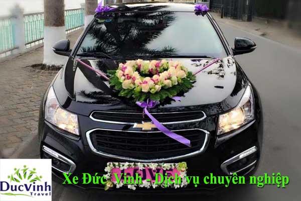 Cho thuê xe cưới Cheverolet Cruze