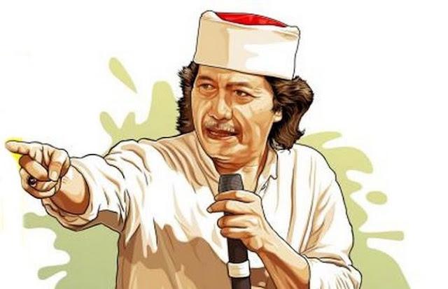 Cak Nun Buat 11 Pertanyaan Untuk Jokowi-Ma'ruf dan Prabowo-Sandi, Apa Isinya?