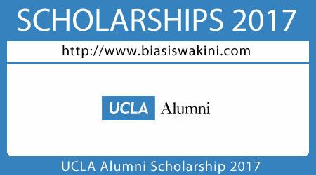 UCLA Alumni Scholarship 2017