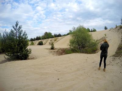 Pustynia w Polsce, wydmy na pustyni Kozłowskiej