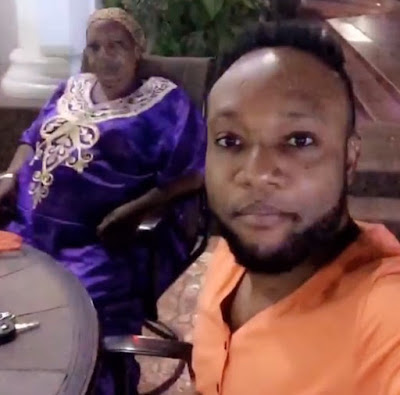 Image result for kcee and mum