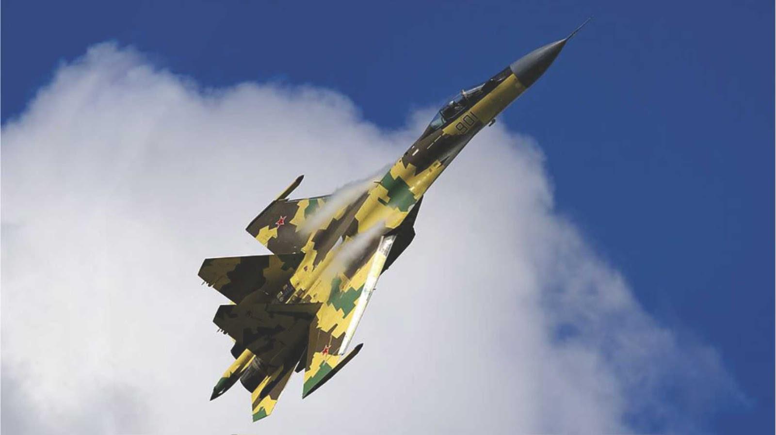 11 Su-35 Indonesia Akan Di Bekali Dengan Senjata Lengkap