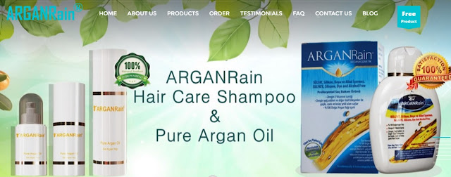 Have you seen the new design of ArganRain website?