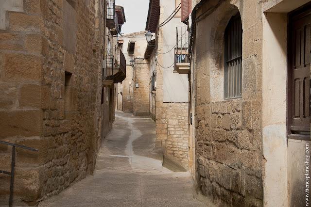 Pueblos de las Cinco VIllas Uncastillo  Zaragoza