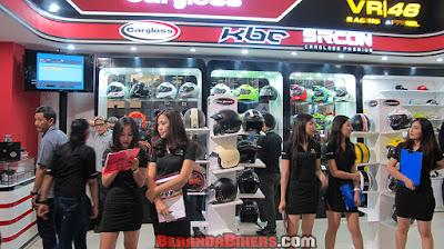 IMOS 2016: Cargloss ProRider boyong 4 brand incaran para pecinta helm