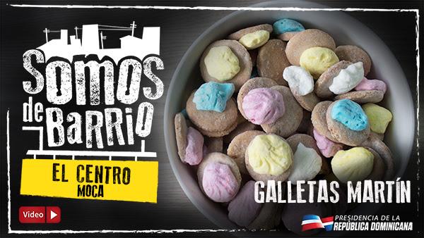 VIDEO: Galletas Martín. El Centro. Moca
