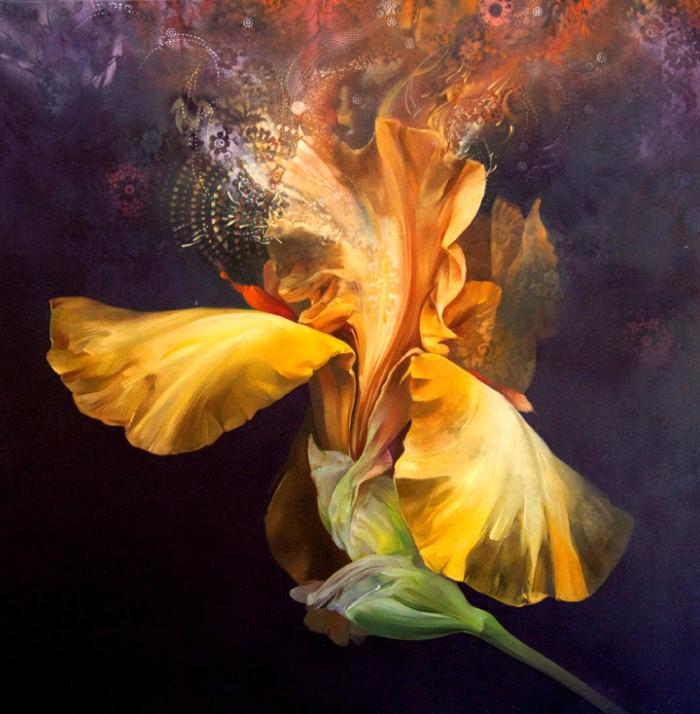 Рисунки цветов. Carmelo Blandino 7
